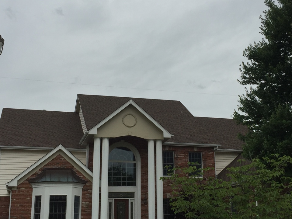 Creve Coeur, MO - We did the neighbor's roof as well!