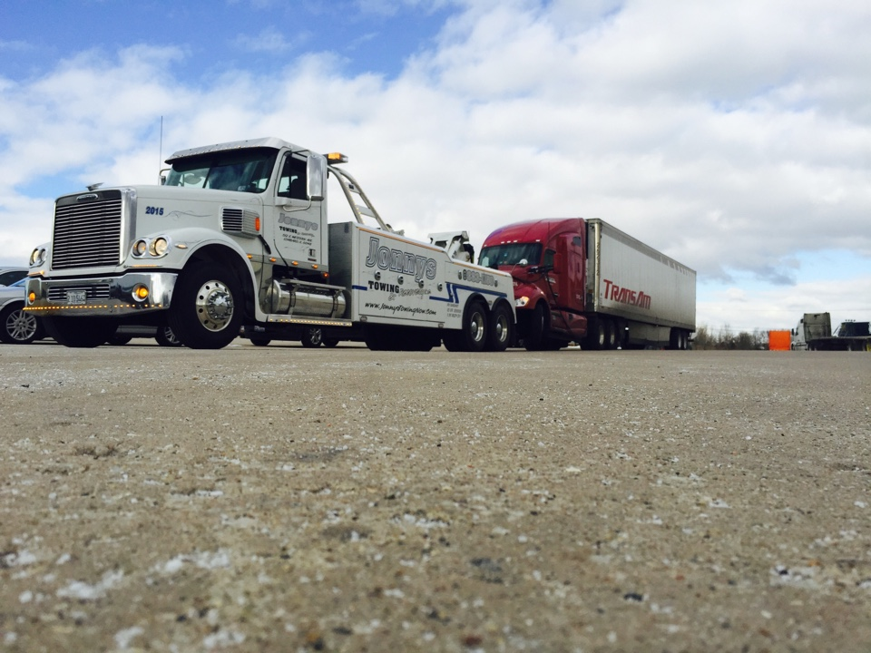 Joliet, IL - Towing for trans am trucking