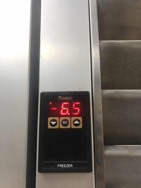 El Cajon, CA - Received an urgent request from a customer to inspect their commercial refrigeration equipment in El Cajon CA. Temperatures had risen on their Traulsen freezer overnight. Our service tech that upon arrival, door was not closed properly. Tech closed the door while inspecting the unit, tested all pressures and checked electrical. No issues found. Freezer temps had dropped down to -6 degrees and falling during inspection. Advised staff to make sure door was shut tight to avoid future issues.