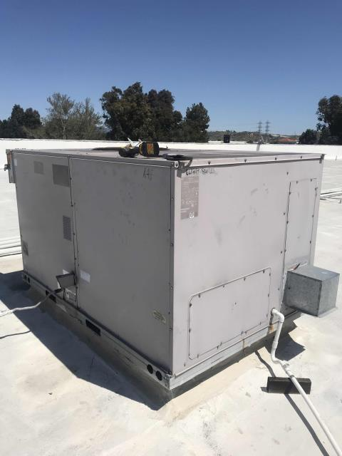 Santa Clarita, CA - AC preventative maintenance scheduled for a commercial property in Valencia CA. Filters were changed on the 10 ton BDP air conditioner, all electrical and mechanical components tested. Fan belt changed. Unit running normally. Did note the blower door was missing insulation, will quote minor issue to customer. PM complete.