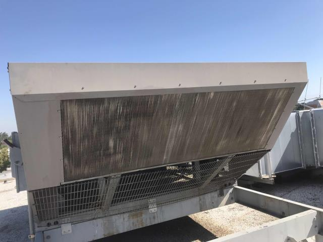 Commercial HVAC maintenance scheduled for a loan store in Visalia CA. All filters on their AC equipment swapped out, motors, electrical and other components tested and confirmed operational. Brushed considerable debris off coils, strong power wash may be needed. Units operational, PM complete.