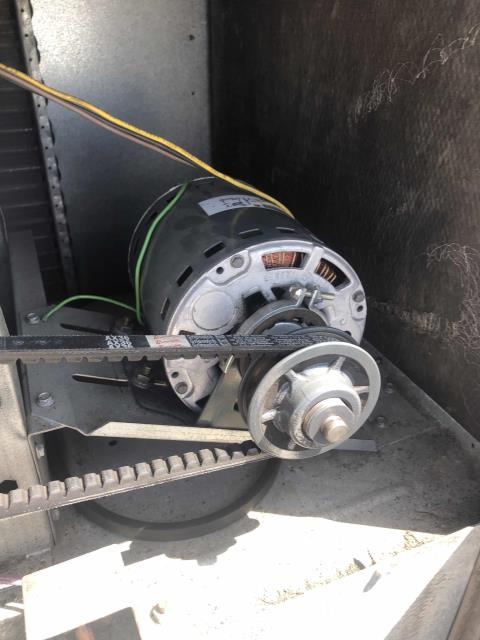 A grocery store in Elk Grove California was receiving customer complaints about the site being warm. Office area also affected. Upon arrival, our commercial technician found a failed blower motor for RTU#2. The technician was able to source and pick up a replacement motor same day . After making repairs, he cycled the unit to verify operations and also reset all set points for the main sales floor units. Temperatures normal, 71* across the store and employees comfortable.