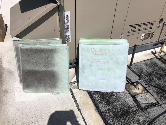 Scheduled the spring air conditioning maintenance for a commercial customer in Vacaville CA. Our technician removed and disposed of all old filters, dated and installed new filters. Cleaned all condenser coils, completed spring checklist and tested all components to prep for summer heat load.  No deficiencies, confirmed units were operational with EMS.