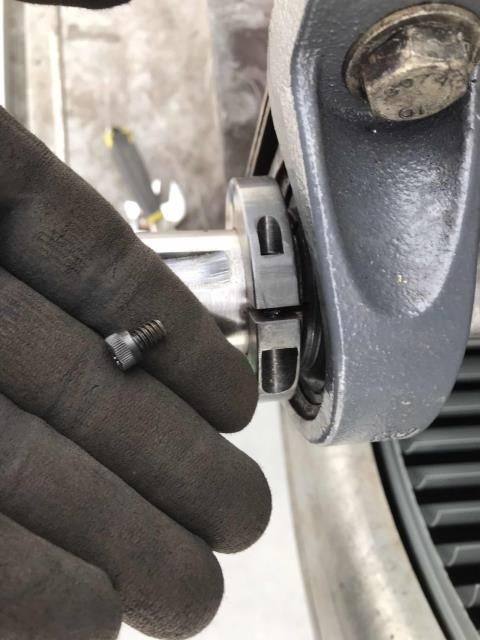 Our HVAC technician returned to a home goods store to repair their commercial Lennox unit. The system had bad bearings that needed to be replaced. After making repairs and adjusting pulley and belt alignments, the tech tested all operations. Confirmed unit is working normally again, job complete.