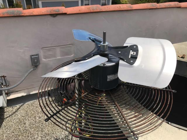 Multiple HVAC repairs scheduled for our commercial customer in Santa Barbara, CA. One Carrier air conditioner required its condenser fan motor, blade and capacitor be replaced. A second unit had a pitted contactor and bad capacitor, and a third AC also had a pitted contactor. The technician completed all necessary repairs and tested the equipment afterwards, confirming all 3 units were functional again.