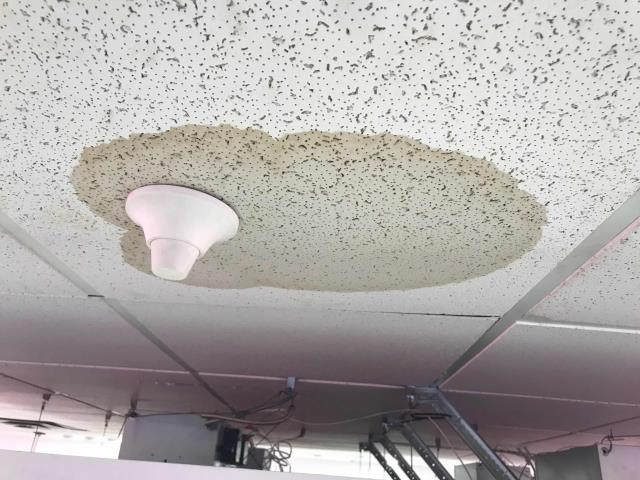 Los Angeles, CA - Responded to an emergency AC request for a commercial customer in LA. Found that the ceiling was dripping over the sales floor, due to the refrigerant lines dripping condensation. Our technician re-insulated the air conditioning refrigerant lines, flushed drain lines as a precaution, and monitored system to confirm no more water was dripping into the space. Job complete.