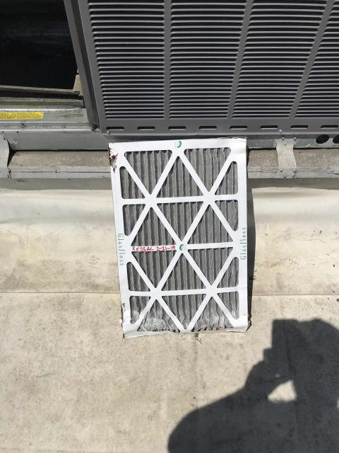A commercial customer in San Joaquin county was scheduled for their recurring AC maintenance today. After checking in with the store manager, our tech completed the PM inspection of unit, and changed out old filter with new current dated filter. Cycled unit on in cooling. Unit is operational. Site comfortable, job complete.