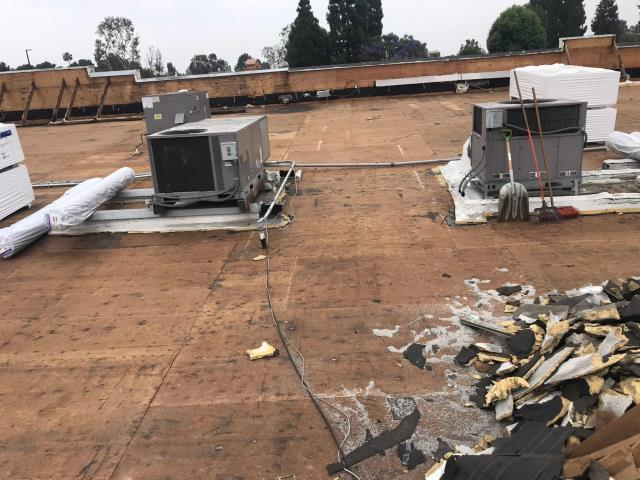 Lakewood, CA - Responded to an emergency HVAC request for a commercial customer in Lakewood California. Both their air conditioners were not cooling. Upon arrival, our technician found that the AC units had been turned off at the disconnects by the roofers. Turned both units on, testing to see if any issues. Found none. Cleared both condensate lines and drain pans as a precaution, as sometimes roofers will shut off AC units if they are leaking during roofing work. Updated manager about roofer situation, should have no more issues as long as the roofers don't shut off the systems.