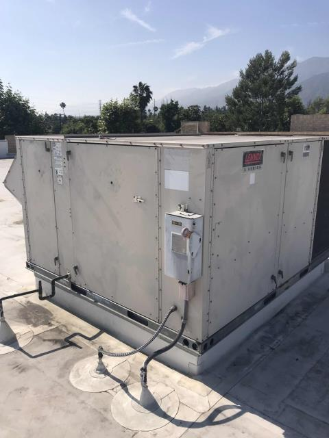 Pasadena, CA - Quoted air conditioning repairs were scheduled today at a commercial customer in Pasadena California. Our technician replaced the freeze stat safety switch for the #7 Lennox system. Cycled and tested unit after making repairs, and checked out with EMS to confirm no more alarms onsite. Job complete.