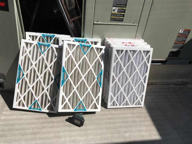 Dispatched our West Hollywood CA HVAC tech out to a chiropractor's office for summer maintenance. Air filters were swapped out and unit inspected. Flushed out the drain-line as it was starting to backup. Noted that the unit is low on refrigerant, will need to quote for a return leak search and repair to resolve issue.