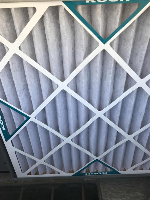 Summer HVAC maintenance scheduled for a commercial customer in Costa Mesa California. All filters changed, units inspected and no deficiencies found. PM complete.
