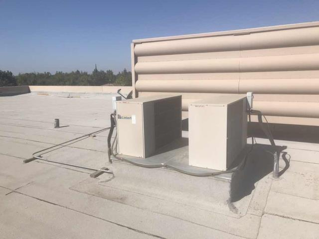 Summer air conditioning maintenance scheduled today for a commercial property in Bakersfield California. All filters changed, coils, amps and pressures checked. Minor service complete, systems operational.