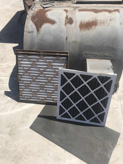A cash loan shop in Los Angeles CA was scheduled for their summer AC maintenance today. All filters were changed, units inspected and minor service complete. No issues to report at this time, units running well.