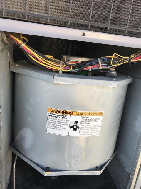 Approved HVAC repairs scheduled for a commercial property in Burbank California. The ICP unit needed a new blower motor and contactor. Tech tested system after making repairs, no more issues to report.