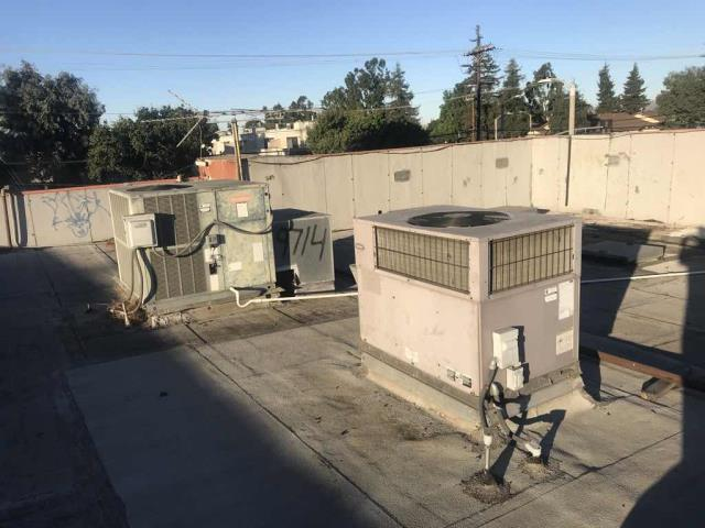 A cash loan store in Los Angeles County reported that their A/C was down. Our commercial tech found that power had gone out to the whole building but was on again. Reset and cycled the system, unit back online with no issues to report.