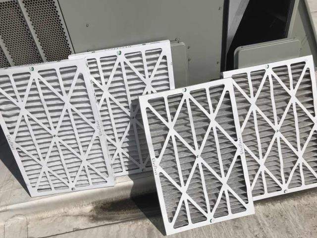 HVAC Maintenance scheduled at an office building in El Segundo, CA today. Basic minor inspection with filter changes. All new filters were dated and the old filters properly disposed of. No issues to report on this visit, PM complete.