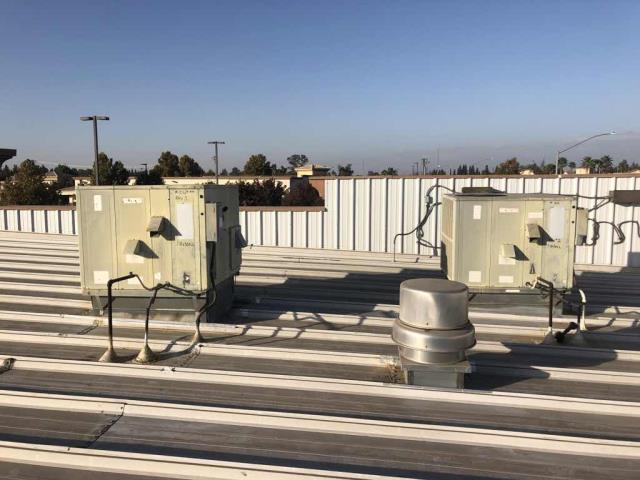 Fresno, CA - HVAC maintenance performed at a retailer in Fresno, California. All units inspected, filters not replaced per customer request. Units prepped for heating season. No deficiencies to report.