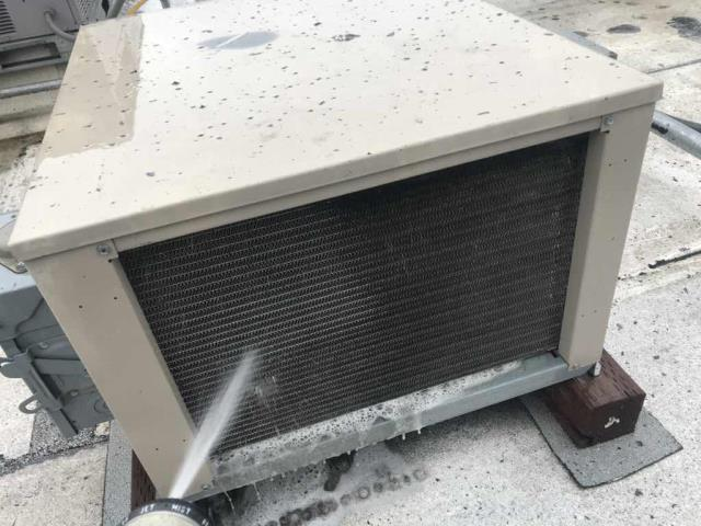 Our restaurant client in Fremont, CA, was scheduled for their quarterly AC and Refrigeration maintenance today. All AC units have their filters replaced and components inspected/tested for winter, and all refrigeration condensers were serviced and cleaned. No issues found on this service, all systems operational.