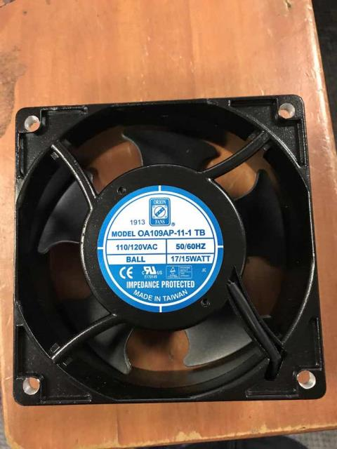 Thousand Oaks, CA - Scheduled refrigeration repairs for a commercial customer in Thousand Oaks, California, today. Their freezer needed a new fan motor that was supplied by the client. After removing the old motor and wiring in the new one, our technician restarted the system and confirmed unit dropped back to operating temperatures. Job complete.