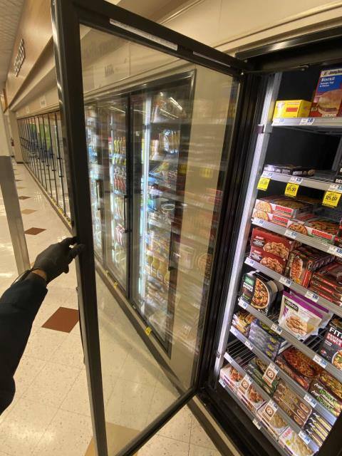 Our refrigeration technician completed approved repairs at a pharmacy in Menifee, California, on a freezer system. The freezer doors needed new gaskets, an issue that had been found on the previous maintenance. All new gaskets have been installed and the doors are closing correctly.