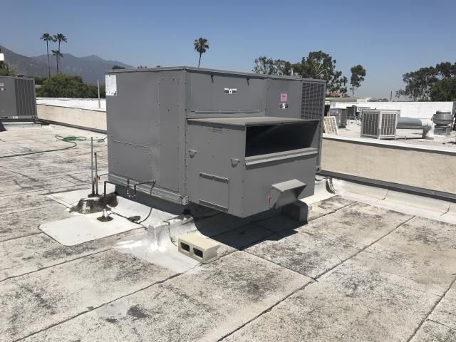 Pasadena, CA - RESSAC PM technician dispatched to commercial makeup store in Pasadena to perform preventative maintenance on two Carrier rooftop package units. Technician replaced the units' air filters and inspected the units. Technician also altered the control operation of one of the units to maximize its efficiency in the current weather conditions. No other deficiencies were found and the tech verified that the units were running optimally.