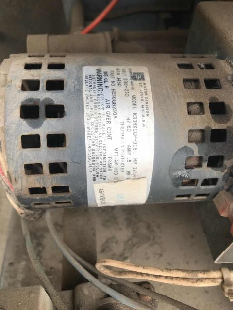 Fresno, CA - Our technician arrived at a cash advance service office in Fresno, California to replace a defective inducer draft motor assembly on a Carrier package unit. After replacement, the tech checked unit and motor operation, safeties, and amperage to insure unit was working properly. Tech also inspected the heat exchanges for cracks. No other issues were found on the unit and the air conditioner was restored back to a working condition.
