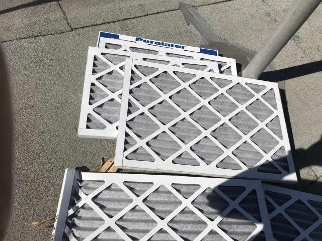 Los Angeles, CA - AC tech arrived at a Los Angeles county mobile provider store to install HEPA filters due to the nearby fires. Successfully replaced filters, unit running well otherwise.