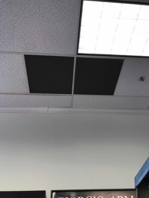 Beauty supply store in Commerce, CA, reported that their vents were very dirty and needed to be looked at. Tech arrived onsite, found vents badly clogged. Proceeded to clean off vents and then sweep up debris from the floor. Site happy with results, units working fine.