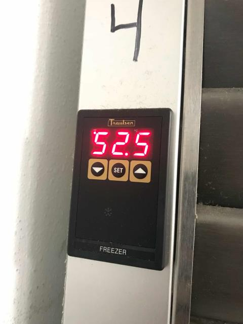 San Diego, CA - San Diego CA refrigeration tech dispatched for an emergency at a weight loss center. Found the Traulsen freezer running at over 50 degrees due to defective sensors. Technician had coil and cabinet sensors in truck stock and was able to replace same day. Tested equipment after repairs, temperatures dropping and system back to normal operations.