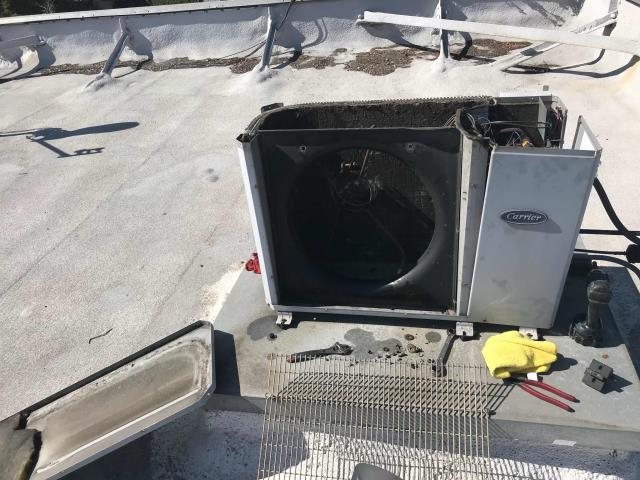 Pasadena, CA - A/C technician responded to a server room call for an office building in Pasadena, California. Inspection revealed a failed condenser fan motor and capacitor that will need to be ordered and replaced.