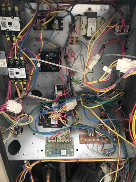 Fresno, CA - RESSAC repair tech responded to a call in Fresno, California, at a clothing shop. Found the units in working condition with minor issue on the economizer. Resolved the economizer issue, called EMS and requested that set points be lowered so compensate for lighting heat load.