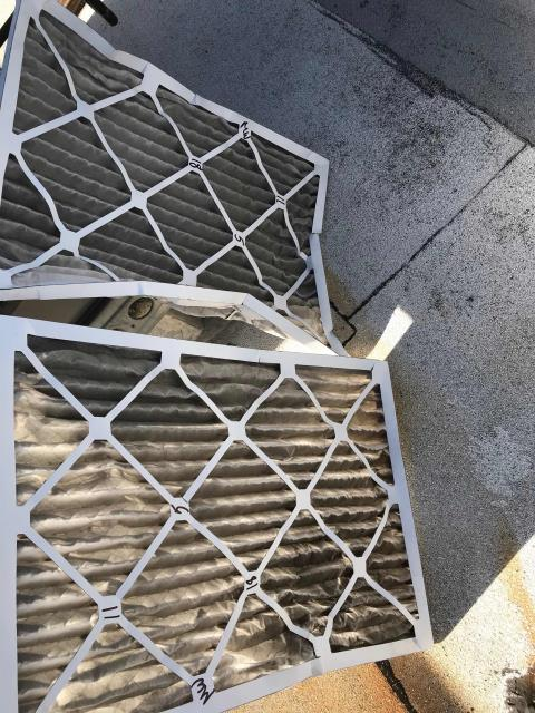 Scheduled air conditioning maintenance at a clothing retailer on Melrose  Avenue in West Hollywood. Performed standard 180 checkup and swapped in new filters. Just one ICP package unit, in good working order and no deficiencies to report.