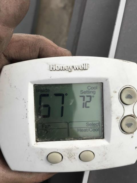 Our Carson, CA a/c tech returned to a pet hotel to resolve electrical issues onsite. Repaired wiring and ran thermostat wiring for temporary thermostats. Programmed thermostats and checked operation. All panels secured. Tech also adjusted settings on the thermostat to auto, so units will control heating and cooling automatically. All units are running at this time.