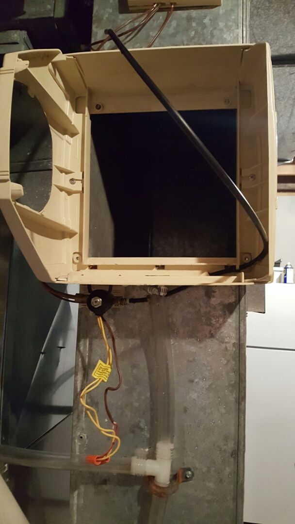 Bloomington, MN - I worked on a humidifier, feeder tube was plugged