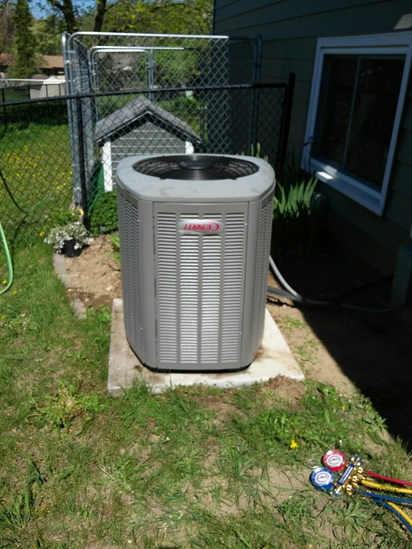 Osseo, MN - Completed a clean and tune on a  Lennox Furnace and Air conditioner in Maple Grove