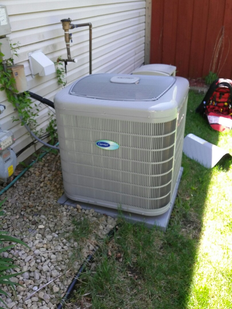 Cottage Grove, MN - Working on doing a clean and tune on a Carrier furnace and Air conditioner in Cottage Grove
