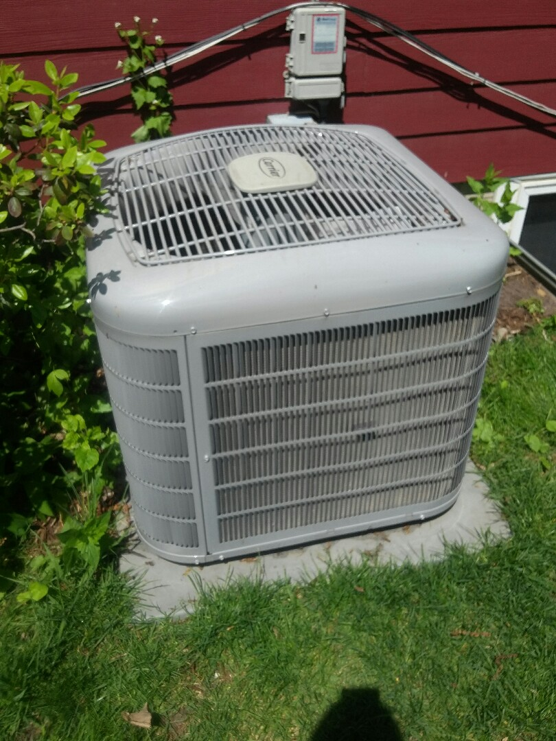 Saint Paul, MN - Completed a clean and tune on a Carrier furnace and Air conditioner in St.Paul