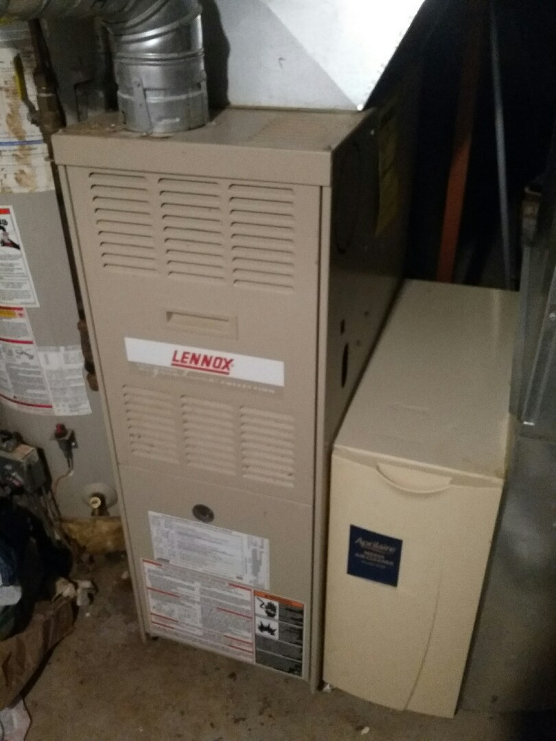 Minneapolis, MN - Completed a clean and tune on a Lennox Furnace in Minneapolis