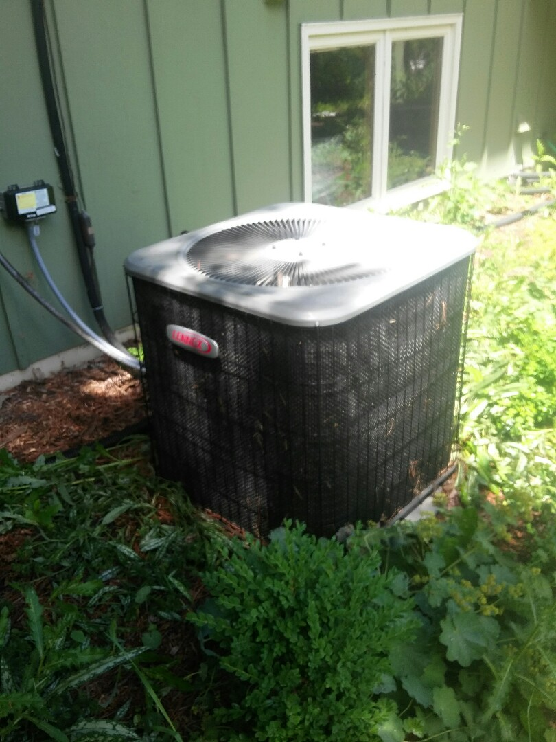 Eden Prairie, MN - doing a clean and tune on a Lennox air conditioner in Eden Prairie