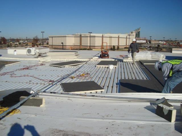 Houston, TX - Large Flat Roof Replacement in Houston, TX