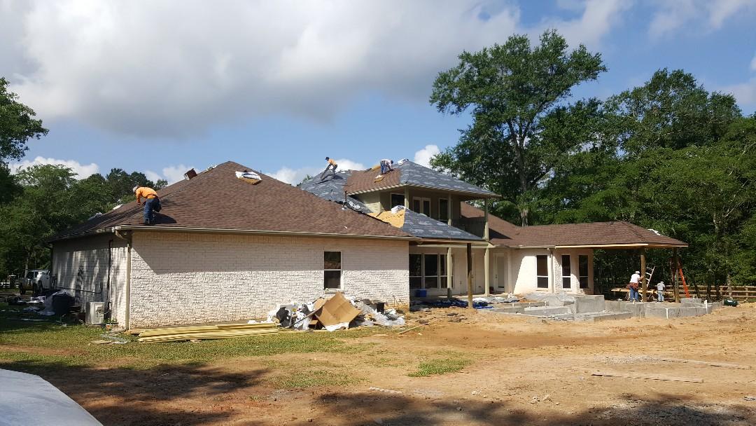 Magnolia, TX - Backside of remodel in progress