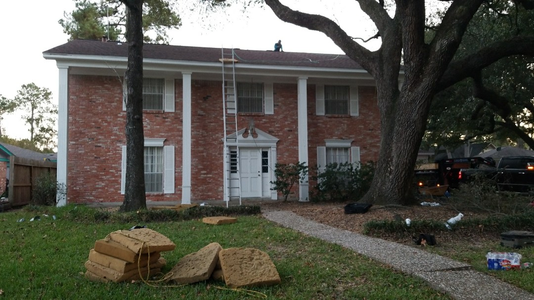 Houston, TX - GAF Timberline HD.  Converted to Ridge vent.  All new flashing, synthetic underlayment and GAF stormguard.