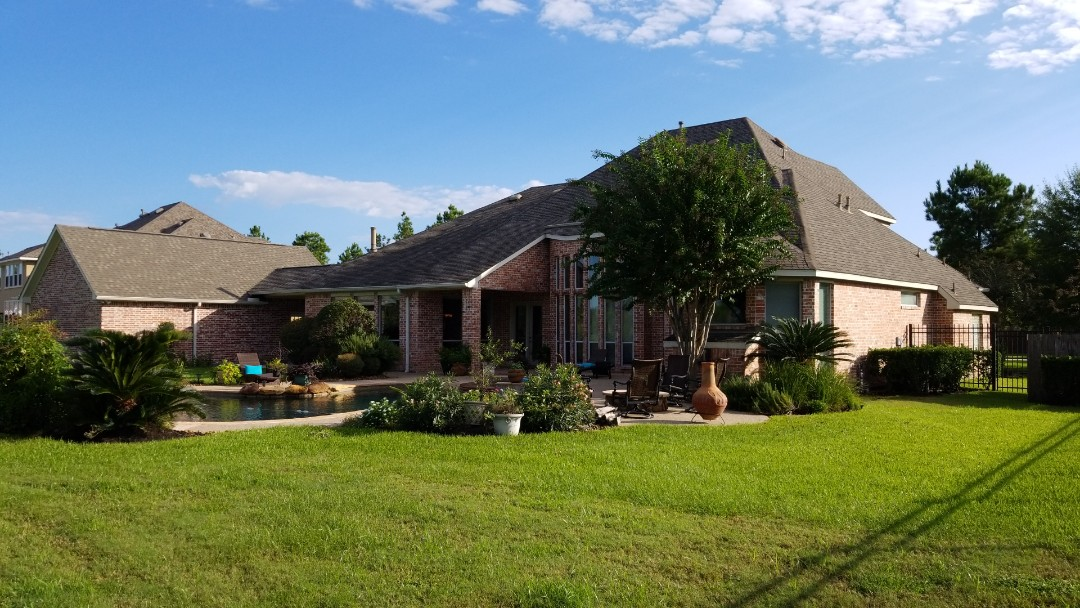 Spring, TX - Beautiful golf course home.  Insurance covering complete replacement!