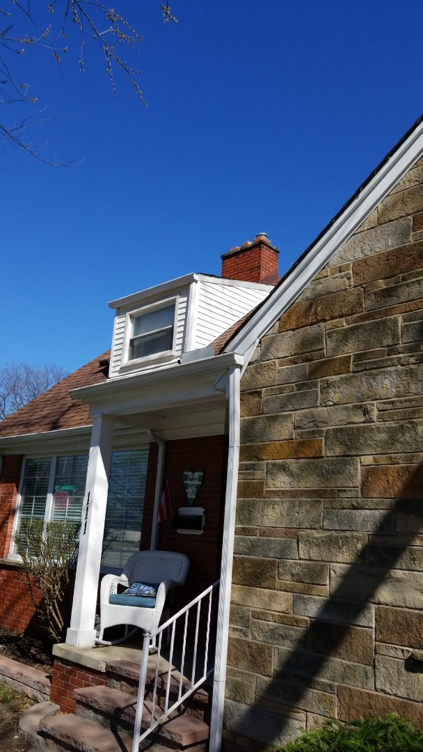 Dearborn, MI - New seamless gutters and downspouts