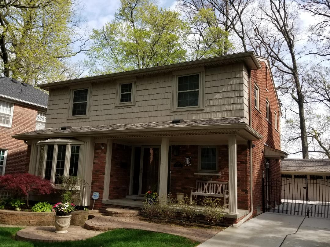 Dearborn, MI - Roofing and Siding, GAF Timberline High Definition Mission Brown and Certainteed Cedar Impressions Wicker