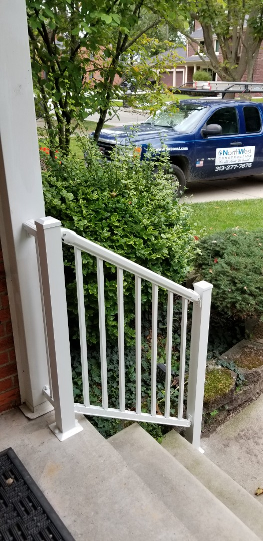 Dearborn, MI - New heavy duty aluminum R-4000 step rails just in time for fall weather to change