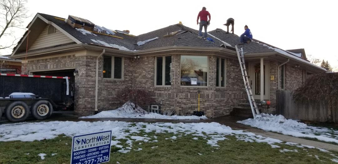 Wyandotte, MI - The Sun came out. Installed a new GAF Timberline High Definition roofing system including GAF Golden Pledge warranty
