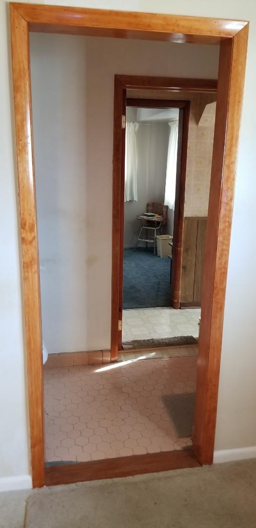 Dearborn Heights, MI - Enlarge door openings inside 1950s ranch for wheelchair egress ADA compliant access