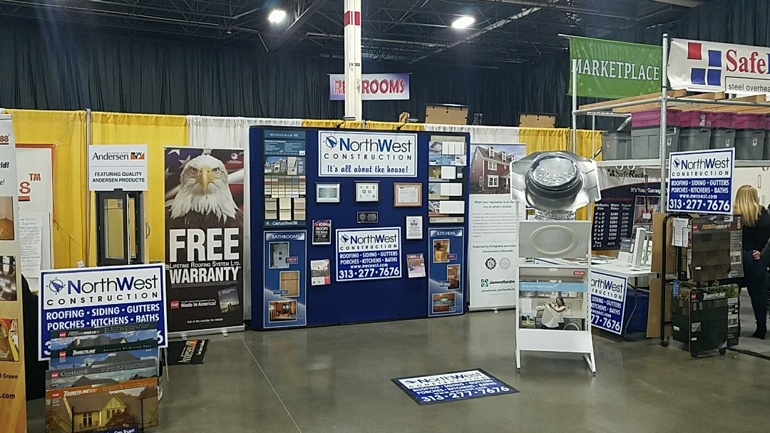 Novi, MI - The Novi Home and Garden Show booth #1703 and 1704