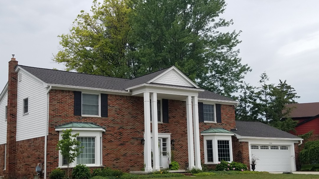 Farmington Hills, MI - New GAF Timberline American Harvest roofing system. Appalachian Sky. including the GAF Golden Pledge Lifetime Transferrable Warranty. The Best Roofing Warranty available.